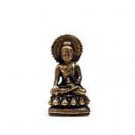 Reisemurti Buddha 3 cm, Messing