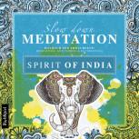 Slow down Meditation - Spirit of India von Lisa Wirth