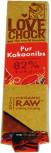 Lovechock Rohschokolade Pur Kakaonibs 40g