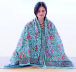 Meditationstuch türkis