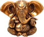 Ganesha Murti ~ 13 cm, Messing