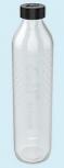 Emilflasche,Glasboden Blume des Lebens 0,75l