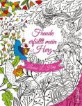 Malbuch: Freude erfüllt mein Herz von Louise Hay
