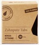 Hydrophil,Zahnputz Tabs Minze Zitrone – 130 Stück – ohne Fluorid