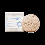 Rosenrot, Shower Bit, Pur mit Peeling, 60 g
