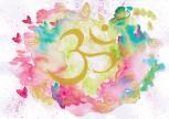 """Kunstkarte """"Colors of OM"""""""