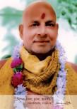 "Postkarte ""Swami Sivananda mit Girlande"""