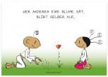 Der kleine Yogi - Wer anderen eine Blume sät ...