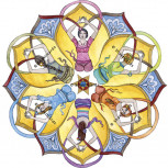 "Fensterbild ""Mandala"""