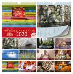 Der Yoga Vidya Postkartenkalender 2020